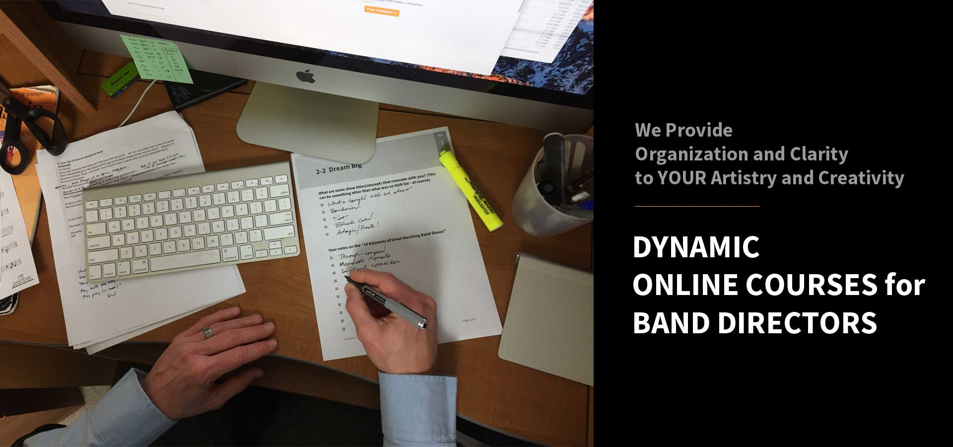 Dynamic Marching Online Courses - Dynamic Marching & Music